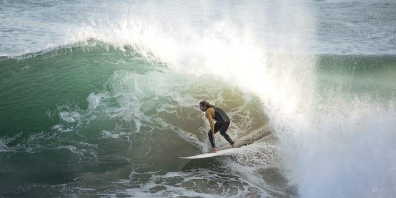 im flow beim surfen